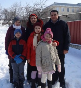 Andrei, Eugenia and thier family